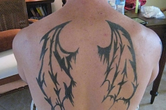 back and chest henna image 12