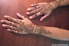 hands and arms henna image 11