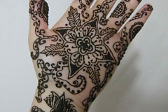 hands and arms henna image 19