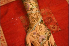 hands and arms henna image 2