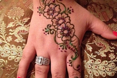 hands and arms henna image 23