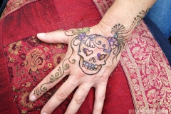 hands and arms henna image 44