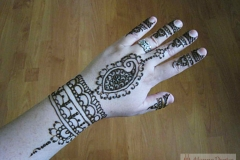 hands and arms henna image 50
