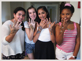 henna parties and events