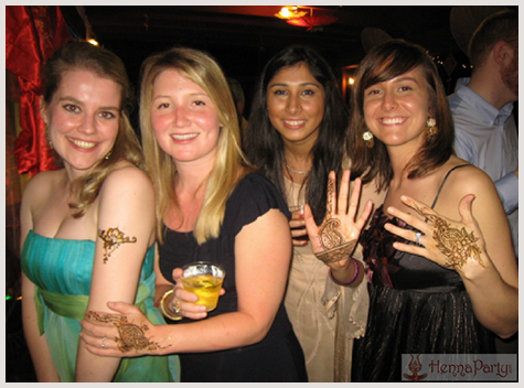 henna events and parties